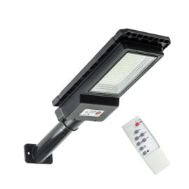 Kültéri vízálló 180 W napelemes térvilágítás fény és mozgásérzékelővel távirányítóval N624