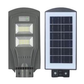 Straus Intelligens Szolár Napelemes Mozgásérzékelős Utcai LED Reflektor 90W ST/LSSL-091