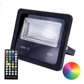 Smart LED reflektor távirányítóval és okostelefonnal vezérelhető RGB és hideg fehér meleg fehér 150 W