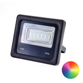 Smart LED reflektor okostelefonnal vezérelhető RGB és hideg fehér meleg fehér 60 W