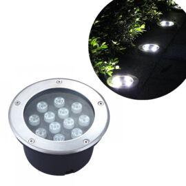 Kültéri beépíthető LED lámpa hideg fehér IP68 12W