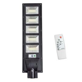 Worth Air napelemes mozgásérzékelős LED utcai lámpa 450W