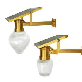 Napelemes Szolár LED Kültéri Lámpa Távirányítós 10W 15W