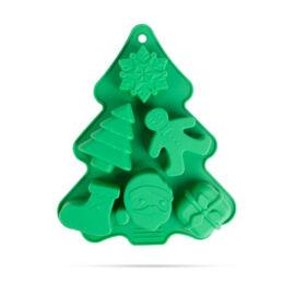 Szilikon sütőforma karácsonyi 22 x 18,5 x 2,5 cm