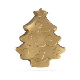 Szilikon sütőforma karácsonyfa 28 x 25 x 4,5 cm