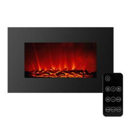 Elektromos fali kandalló hősugárzó LED 91x15x56cm BW2022