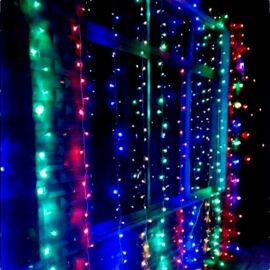 LED Fényfüggöny 2mx2m színes RGB