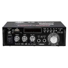 HIFI audio sztereó erősítő táirányítóval bluetooth FM rádió 2CH 600W BT-298A