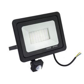 Kültéri LED reflektor mozgásérzékelővel 50W IP66