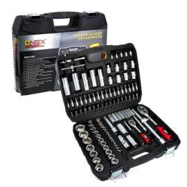 Onex racsnis dugókulcs készlet 108 darabos