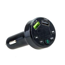 CARE 6 Autós FM transzmitter kijelzővel Bluetooth SD kártya olvasó