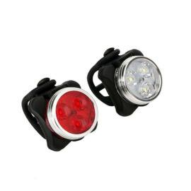 USB Újratölthető Kerékpár bicikli lámpa szett F-003