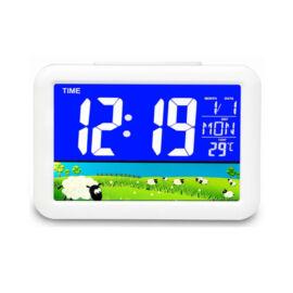 Digitális LED ébresztő óra hőmérséklet mérő GH7002WJ-1
