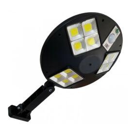 Mozgásérzékelős LED Kör alakú napelemes kültéri szolár lámpa távirányítóval 144LED 60W LF-1758