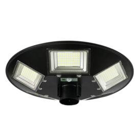 Mozgásérzékelős LED UFO napelemes kültéri szolár lámpa 2m állvánnyal 400LED 250W