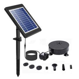 Napelemes LED szökőkút vízszűrő 5 LED RGB BSV-SP035XP