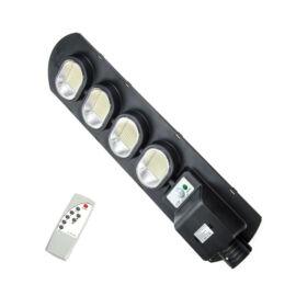 Napelemes szolár LED kültéri lámpa integrált szolár panellel távirányítóval 400W IP67