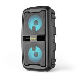 Bluetooth hordozható hangszóró multimédia lejátszó mikrofonnal MP3 USB FM rádió TF 1200mAh KMS-6685