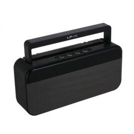 Bluetooth Hangszóró Kihangosító Telefontartóval TF USB AUX FM LP-V12