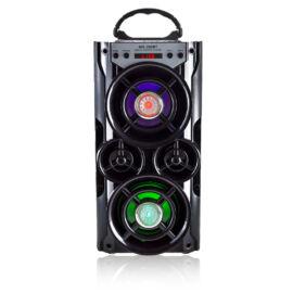 Bluetooth hordozható hangszóró multimédia lejátszó MP3 USB FM rádió TF MS-260BT
