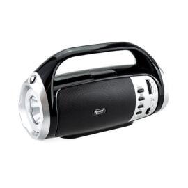 Bluetooth Hangszóró Telefontartóval Napelemmel TF USB AUX FM RX-BT26S