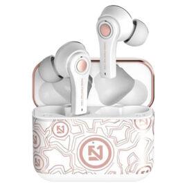 Fehér vezeték nélküli fülhallgató Bluetooth 5.0 fülhallgató és töltőtok TS-100