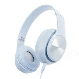 Hanizu vezetékes fejhallgató 4D sztereó világoskék színben HZ-362