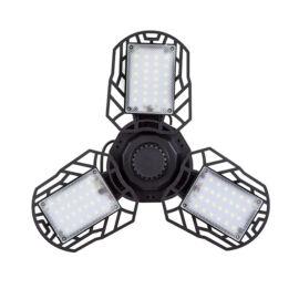 LED hordozható akkus világítás napelemes 3 ágú XF-701