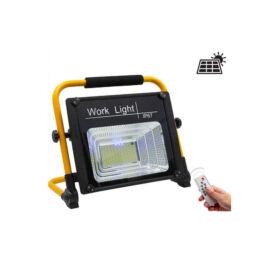 Napelemes szolár LED munkalámpa tölthető 50W 80W 150W IP67 W745A