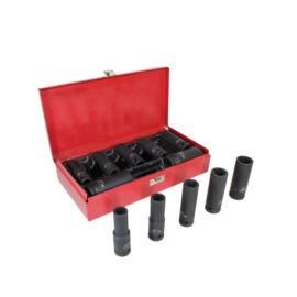 """Erősített dugókulcs készlet 12 részes 1/2"""" 10-24mm HB-6772"""