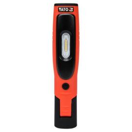 YATO Mágneses Akkus LED lámpa 1+1 LED YT-08508