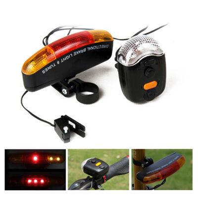 LED Biztonsági Biciklilámpa Index Féklámpa Kürt XC-408