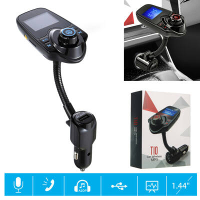 Bluetooth FM Transmitter T10