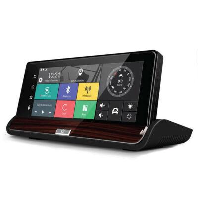 Autós Műszerfali GPS Navigáció Fedélzeti DVR Tolató Kamera Multimédia Lejátszó
