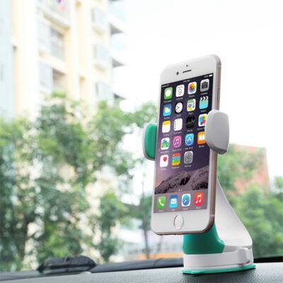 Autós Telefontartó Tapadókorongos 720 fokban elforgatható A01