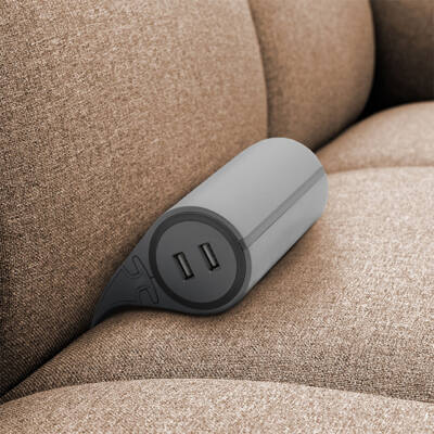 Ülőgarnitúra hosszabbító és USB