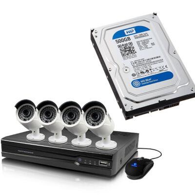 HDD beüzemelés CCTV kamera megfigyelő rendszerek beltéri egységébe
