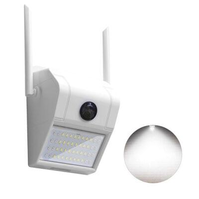 Vezeték nélküli WiFi IP HD kamera és LED lámpa éjjellátó V380