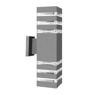 Kültéri fali lámpa IP54 fém ház 34cm SNHL 1457