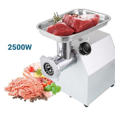 Rozsdamentes acél ipari húsdaráló 2500W HM-6240