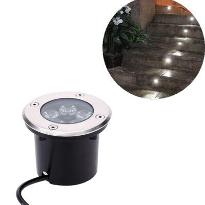 Kültéri beépíthető LED lámpa hideg fehér IP68 5W
