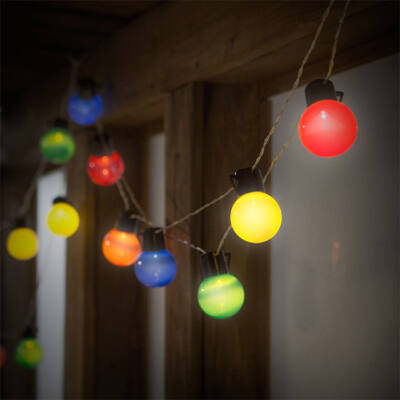Party LED fényfüzér 20 LED 6m