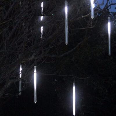 Dekorációs Meteor Jégcsap Olvadást Imitáló 30cm Hideg Fehér SMD LED