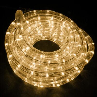 LED Fénytömlő 10m Meleg Fehér