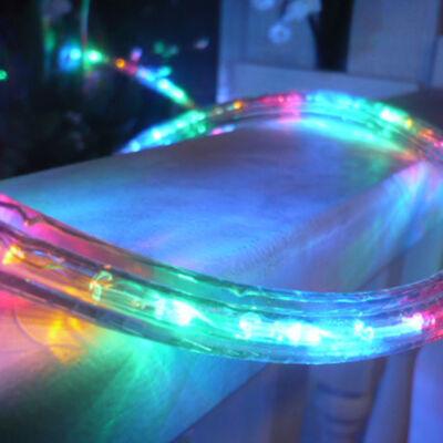 LED Fénytömlő 10m Multi Color