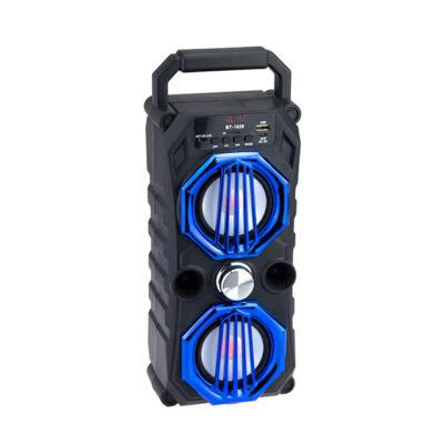 Bluetooth hordozható multimédia lejátszó MP3 USB FM rádió TF BT-1828C
