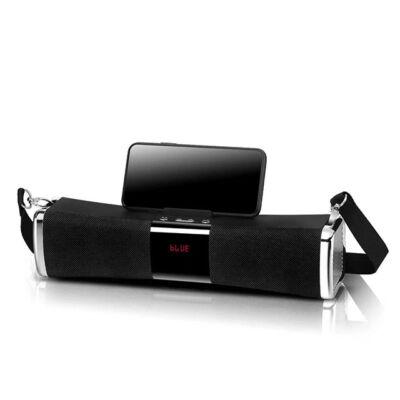 Bluetooth Hangszóró Kihangosító Telefontartóval TF USB AUX FM E822