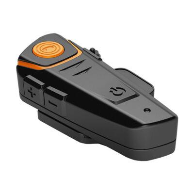 Bluetooth vezeték nélküli motorkerékpár sisak headset fekete BT-S2