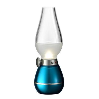 Elfújható LED retró petróleum lámpa