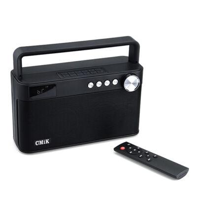 Bluetooth hordozható multimédia lejátszó MP3 USB FM rádió CMiK
